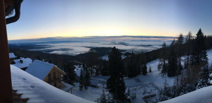 Uitzicht Energy Up snowcamp Oostenrijk